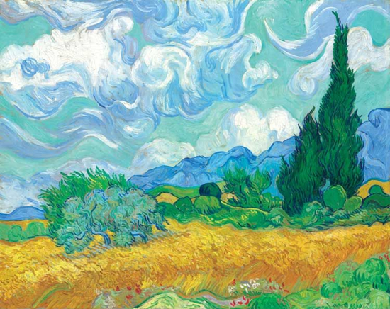 Van-Gogh-Wheatfield-with-Cypresses