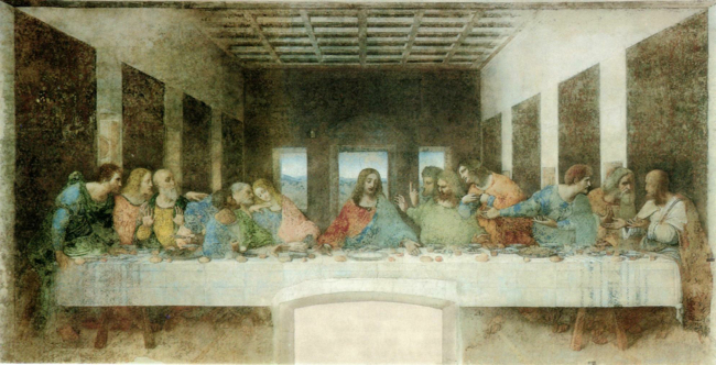 Leonardo Da Vinci's The Last Supper