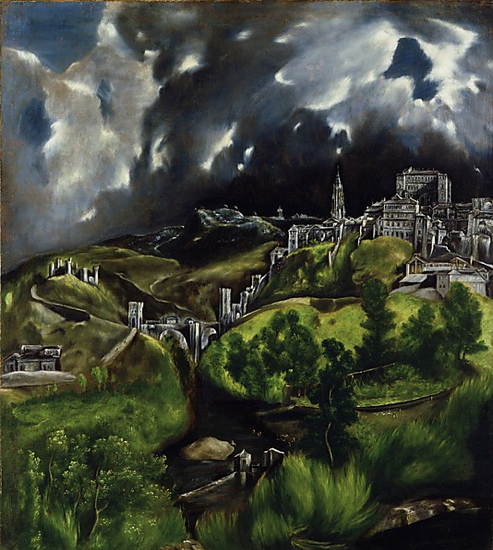 "El Greco ""Vista de Toledo"" The Met (New York)"