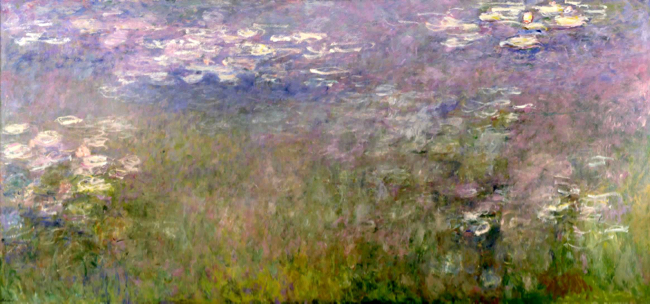 Claude Monet, water lillies